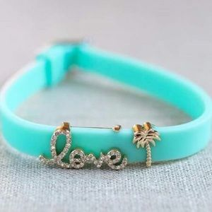 Keep Collective Turquoise Silicone Band Keeper